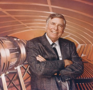 Start Trek creator and futurist Gene Roddenberry